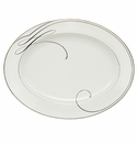 Waterford Ballet Ribbon Oval Platter, 15.25""