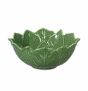 "Andrea by Sadek Green 7.5"" Poinsettia Bowls (Set of 4)"
