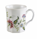 Andrea by Sadek Porcelain Buckingham Mugs (Set of 4)