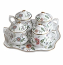 Andrea by Sadek Buckingham Pot De Creme Set