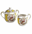 Andrea by Sadek Newport Kingscote Sugar & Creamer Set