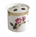 Andrea by Sadek Antique Rose Toothbrush Holder