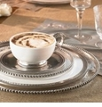 Arte Italica Perlina Pewter Dinnerware