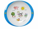 Baby Cie Farm Animal Melamine Child's Small Plate