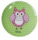 Baby Cie Hibou Owl Three Piece Dinnerware Set