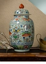 Dessau Home Porcelain Fish Jar