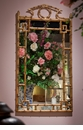 Dessau Home Antique Gold Bamboo Mirror