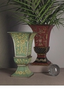 Dessau Home Blue/Green Iron Vase