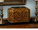 Dessau Home Leopard Finish Wood Box