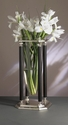 Dessau Home Antique Silver & Black Floating Vase