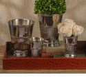 Dessau Home Nickel Fluted Mint Julep Cup