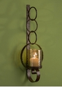 Dessau Home Bronze Ring Wall Sconce