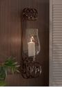 Dessau Home Bronze Curled Wall Sconce