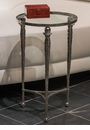 Dessau Home Hammered Nickel Cocktail Table