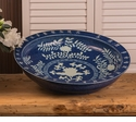 Dessau Home Cobalt Chinese Bowl