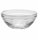 Duralex Lys Stackable Clear Glass Bowl 4.125 Inch