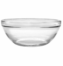 Duralex Lys Stackable Clear Glass Bowl 12 Inch
