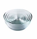 Duralex 9 Pc.Set Lys Clear Glass Bowls