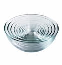 Duralex 10 Pc.Set Lys Clear Glass Bowls