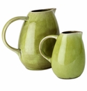 Jars Ceramics Tourron Avocado Creamer 10.1 oz