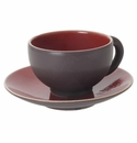 Jars Ceramics Tourron Cherry Tea Cup & Saucer 6.1 oz