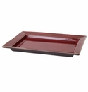 "Jars Ceramics Tourron Cherry Rectangular Dish L 14.2""X10.6"""