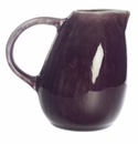 Jars Ceramics Tourron Eggplant & White Creamer 10.1 oz