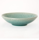 "Jars Ceramics Tourron Jade Soup Bowl 7.5""X2.1"""