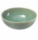 "Jars Ceramics Tourron Jade Pasta Bowl 9.5""X3.4"""