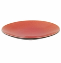 Jars Ceramics Tourron Orange Presentation Plate 12.5""