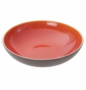 "Jars Ceramics Tourron Orange Pasta Bowl 9.3""X2.6"""