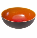 "Jars Ceramics Tourron Orange Pasta Bowl 9.5""X3.4"""
