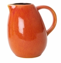 Jars Ceramics Tourron Orange Pitcher 33.8 oz