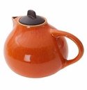 Jars Ceramics Tourron Orange Teapot 47.3 oz