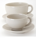 Jars Ceramics Tourron Quartz Jumbo Cup & Saucer 15.2 oz