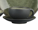 Jars Ceramics Tourron Samoa Tea Cup & Saucer 6.1 oz