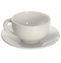 Jars Ceramics Poeme Neige Tea Cup & Saucer 6.1 oz