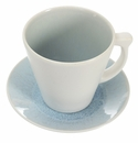 Jars Ceramics Vuelta Ocean Blue Tea Cup & Saucer 8.1 oz