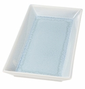 "Jars Ceramics Vuelta Ocean Blue Tray 12.5""X 6.3"""