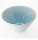 "Jars Ceramics Vuelta Ocean Blue Salad Bowl 9.85"" X 5.1"""