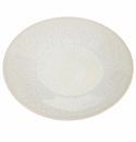 Jars Ceramics Vuelta White Pearl Dinner Plate L 11.4""