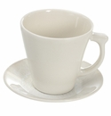 Jars Ceramics Vuelta White Pearl Tea Cup & Saucer 8.1 oz