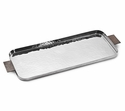 "Mary Jurek Silvana 17"" X 7"" Tray - Stainless Steel"