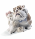 Nao Porcelain Will you be mine? Dog Figurine