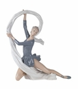 "Nao Porcelain ""Dancer with veil"" Figurine by Lladro"