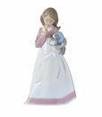 "Nao Porcelain ""And now to bed"" Figurine by Lladro"