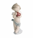 "Nao Porcelain ""A little heart of love"" Figurine by Lladro"