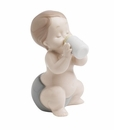 "Nao Porcelain ""My first bottle"" Figurine by Lladro"