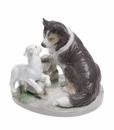 "Nao Porcelain ""Countryside companions"" Figurine by Lladro"