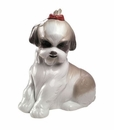 "Nao Porcelain ""Pampered Shih-tzu"" Figurine by Lladro"